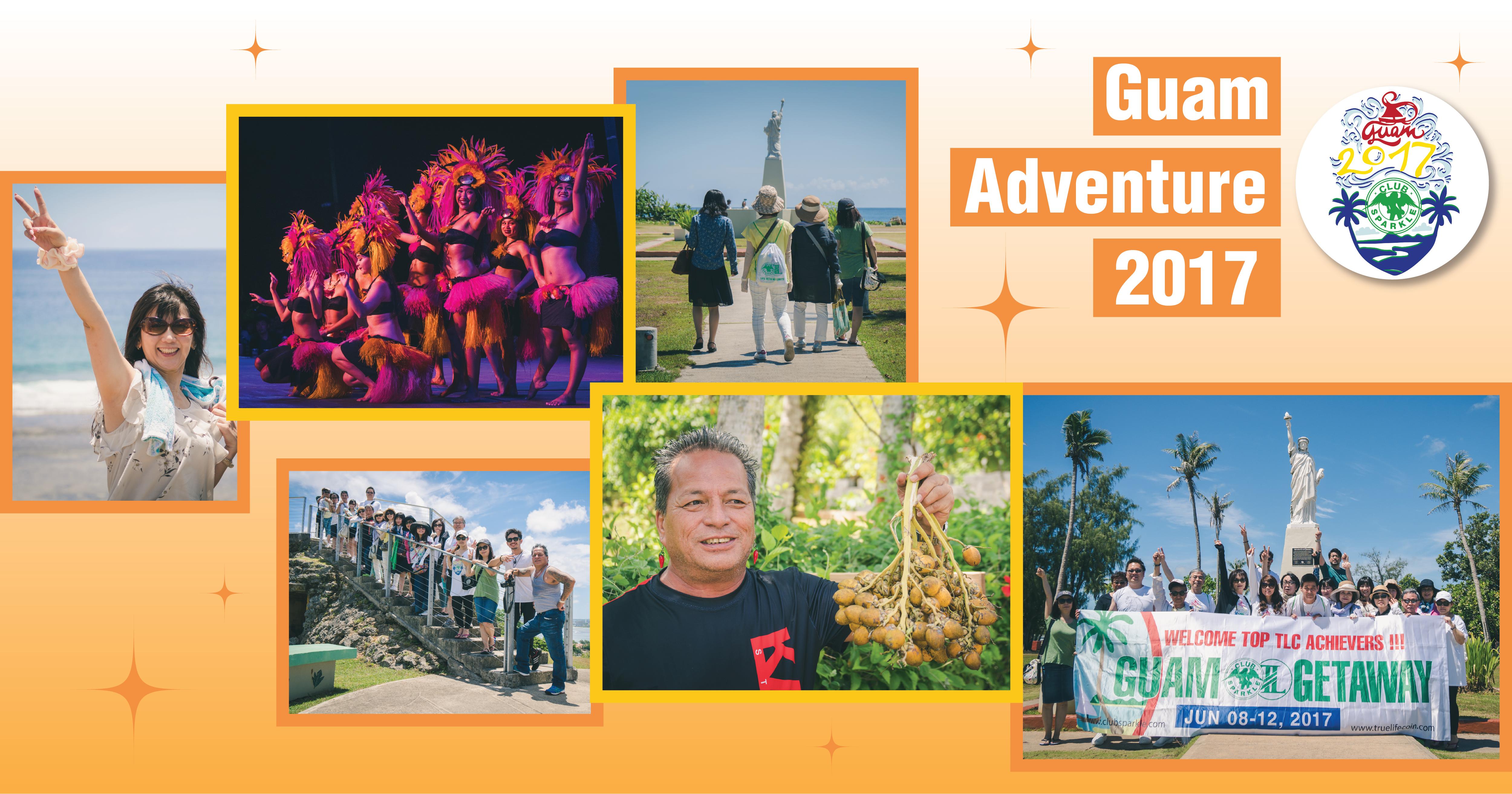 Guam Adventure 2017 collage